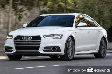 Insurance rates Audi A6 in Lubbock