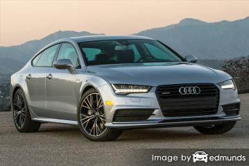 Insurance quote for Audi A7 in Lubbock