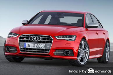 Insurance quote for Audi S6 in Lubbock