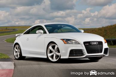 Insurance rates Audi TT RS in Lubbock