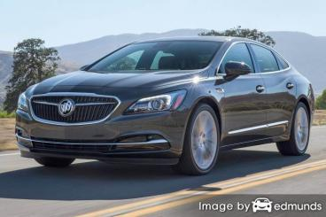 Insurance rates Buick LaCrosse in Lubbock