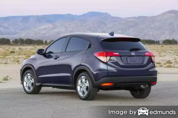 Insurance rates Honda HR-V in Lubbock