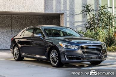 Insurance quote for Hyundai G90 in Lubbock