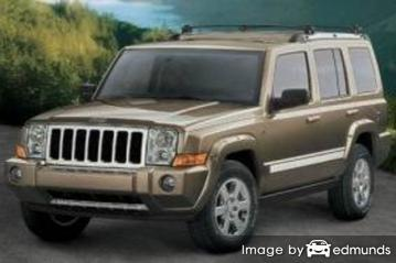 Insurance for Jeep Commander