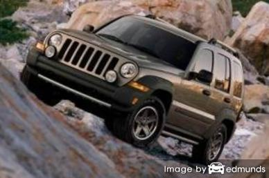 Insurance quote for Jeep Liberty in Lubbock