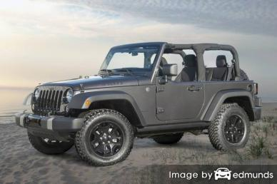 Discount Jeep Wrangler insurance