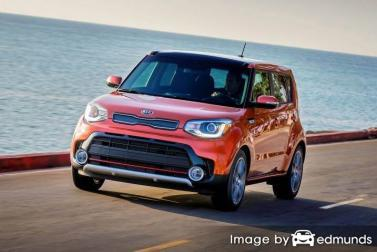 Insurance rates Kia Soul in Lubbock