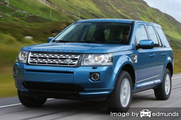 Insurance quote for Land Rover LR2 in Lubbock