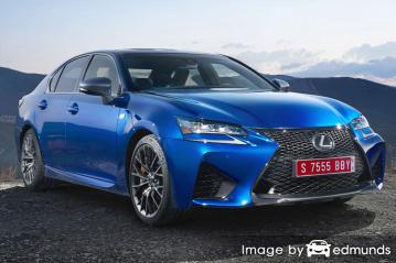 Discount Lexus GS F insurance