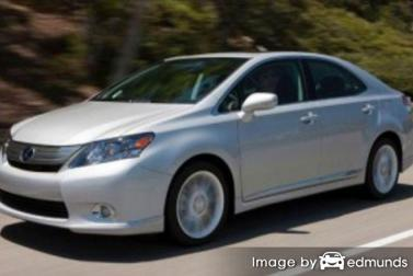 Insurance quote for Lexus HS 250h in Lubbock