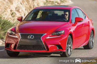 Insurance quote for Lexus IS 200t in Lubbock