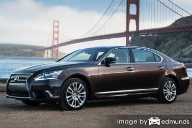 Insurance quote for Lexus LS 600h L in Lubbock
