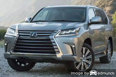 Insurance quote for Lexus LX 570 in Lubbock