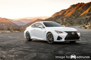 Insurance rates Lexus RC F in Lubbock