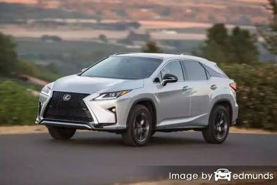 Discount Lexus RX 350 insurance