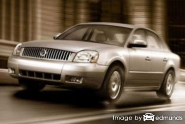 Insurance quote for Mercury Montego in Lubbock