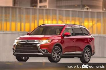 Insurance quote for Mitsubishi Outlander in Lubbock