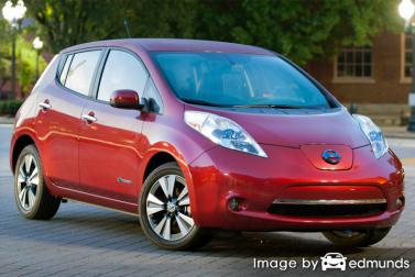 Insurance quote for Nissan Leaf in Lubbock