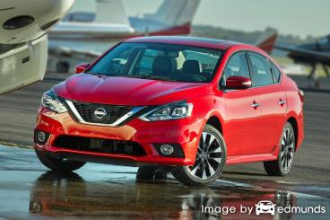 Insurance rates Nissan Sentra in Lubbock