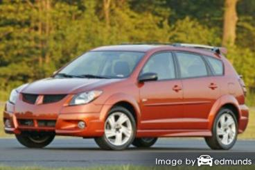 Insurance quote for Pontiac Vibe in Lubbock