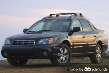 Insurance rates Subaru Baja in Lubbock