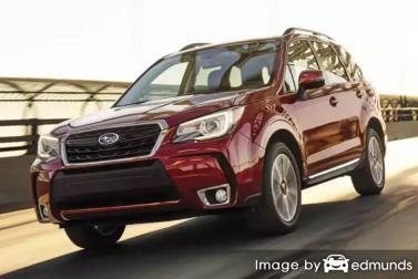 Insurance rates Subaru Forester in Lubbock