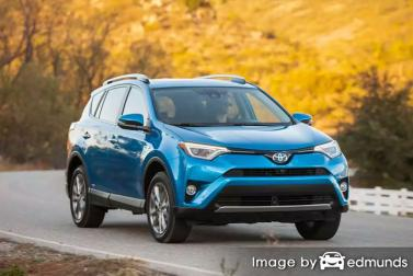 Insurance quote for Toyota Rav4 Hybrid in Lubbock