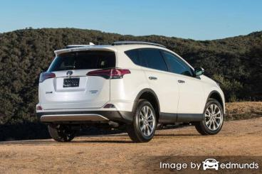 Insurance quote for Toyota Rav4 in Lubbock