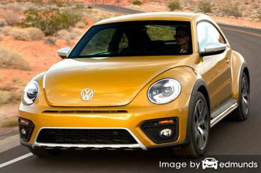 Insurance rates Volkswagen Beetle in Lubbock